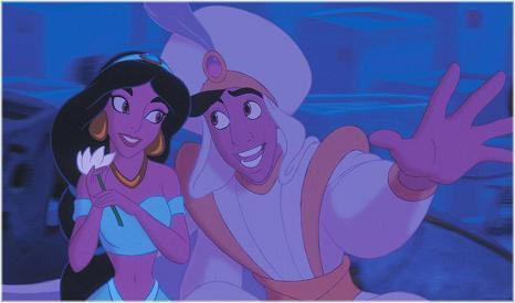 A whole new world A dazzling place I never knew