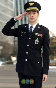 Kim Jun as detective Shin Dong Jin