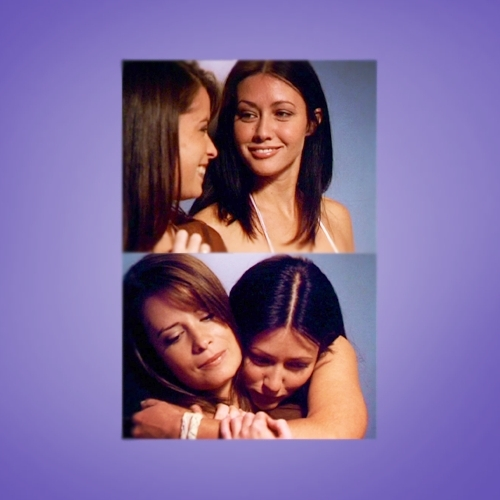 Zoey's 2 favourite sisters ♥ '-Piper immpersed me from the start! Since i watched it from the 4th season i didn't get to meet Prue,but when i watched it for the 秒 time,i liked Prue too.' she says