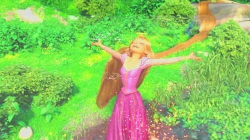 Rapunzel  is my favourite princess since Ariel & Belle.