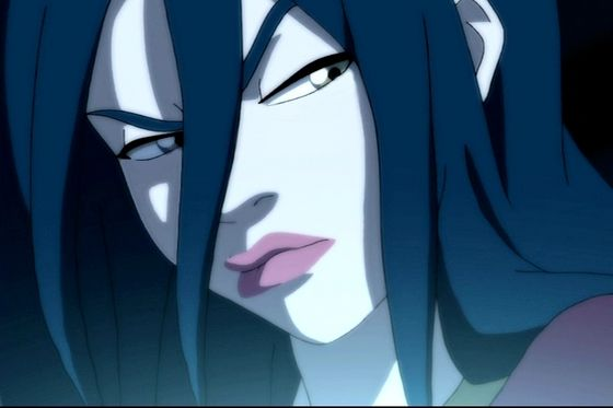 No. 1: Princess Azula. She is a very beautiful Azure star, glowing above the rest, a true diamond of the 火, 消防 nation; her eyes like pools of molten gold; her skin so perfect and lush; her lips such a vibrant crimson; not a strand out of place.
