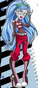 Ghoulia in her normal outfit.