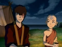 Zuko is finally at peace upon joining Team Avatar.