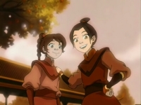 Ty Lee and Azula as children.