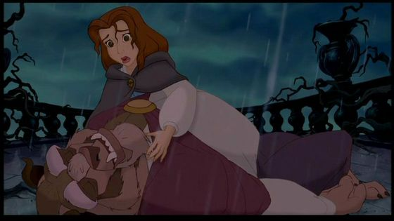 #2 Beauty & the Beast: One of the most romantic love stories I have seen in the 90s and one quote I love this one.Belle: No please please please don't leave me I love you'