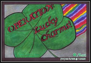 "MY OWN POM FANART #01 - ""OPERATION: LUCKY CHARMS!"" शीर्षक"