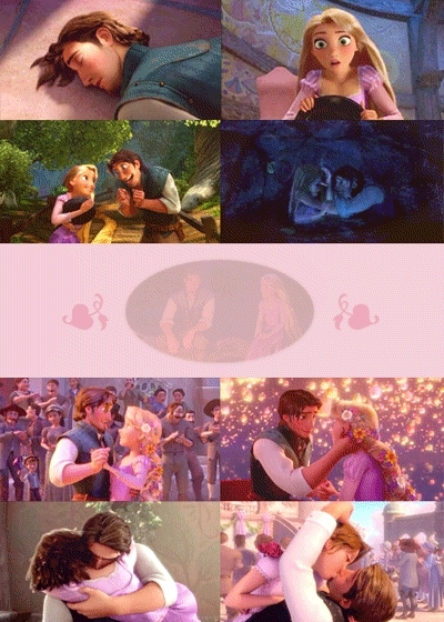 Ahw I loved the couple in this as they don't get along then they do and I love Rapunzel as a brunette.