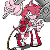 Amy rose the werehog