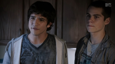 STILES: MAYBE U CAUGHT A RABBIT of SOMETHING.. SCOTT: AND DID WHAT? STYLES: ATE IT.. SCOTT: RAW ?? ST
