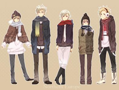 My lil Nordics~