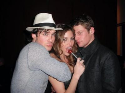 mine :) Ian with Zach and Kayla
