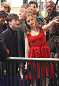 I want a rare pic of emma and daniel together ( it must be a rare one... not the ones which u usually