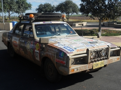Name:Dirt Duster<br /> Side:Autobots<br /> vehicle:outback rally car<br /> Bio:autobot dirt duster ha