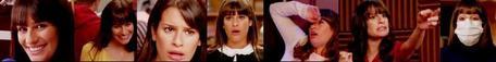 Here's my one, the aleatório hilarity of Rachel Berry :)