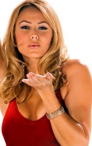 <i>Yes, she really does. ♥Stacy Keibler♥</i>