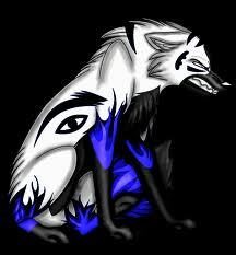 (This is his wolf form)