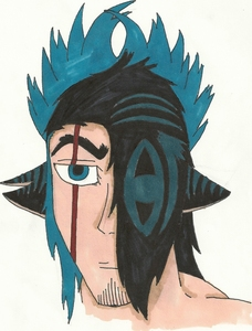 (And lastly, a close-up of his head for details XD)