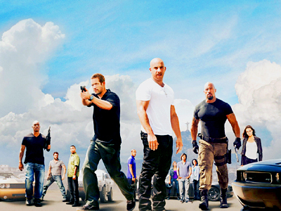 [b]Day 4 - A movie that makes you sad[/b]  Movie:  Fast Five Starring:  Vin Diesel, Paul Walker, Jord