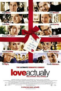 Day 3 - A movie that makes you happy:  Love Actually.