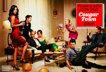 [b]Day 02 - A دکھائیں that آپ wish مزید people were watching[/b] Show: Cougar Town Starring: Courten