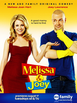 [b]Day 03 - Your favorito new show[/b] Show: Melissa & Joey Starring: Melissa Joan Hart, Joey Lawr