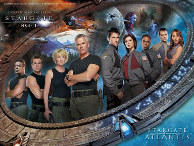 <b>Day 08 - A show everyone should watch</b><br /> <br /> <u>Stargate SG-1 -</u> Based on the 1994 fe