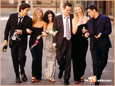 Day 19 - Best tv show cast:  Friends' cast, including guest stars.