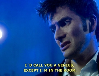 [b]Day 14 - Favorite male character[/b].  [u]The Tenth Doctor[/u] -   I have no doubt he's my favorit