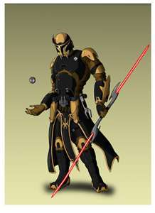 Sith: Darth Rayne<br /> <br /> <br /> Darth Rayne is a mandalorian, but with the force. When he was a