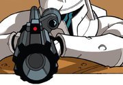 Clone trooper Raz is a sniper for the rebel army and almost never misses his shot but dont worry if h