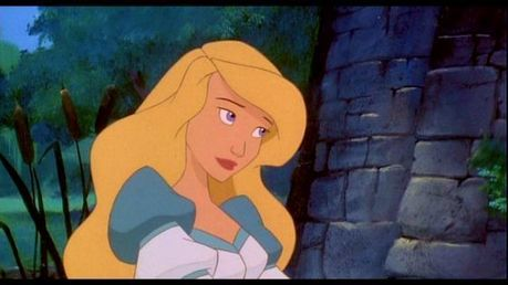 I also think after watching a video that Alice also looks kinda in a way like Odette from The cisne Pr