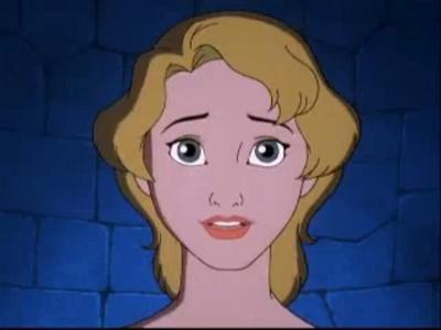 I think Madellaine from The Hunchback of Notre Dame 2 looks alot like Penny(R). Penny is only plainly