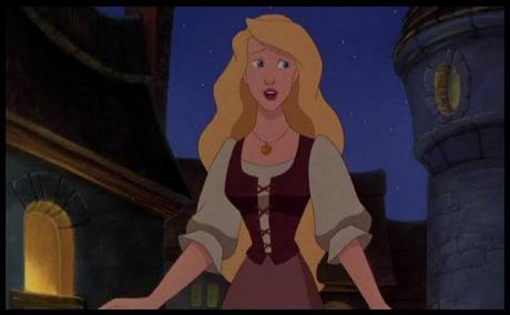 Odette from The سوان, ہنس Princess. I think she looks alot like Eilonwy they both have the same eye shape,