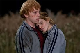 Ron and Hermione taught me that cinta can be found even in the darkest of times