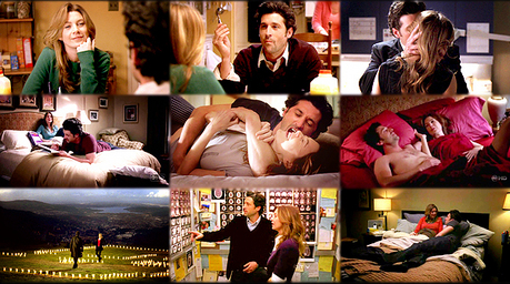 <i>Day 2: What was your very first ship?</i> Meredith & Derek