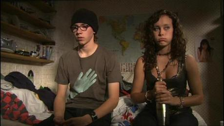 दिन 5: The pairing with the least chemistry. Sid & Michelle (Skins) . Although I प्यार them as friend