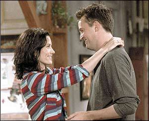 giorno 2: What was your very first ship? Monica and Chandler