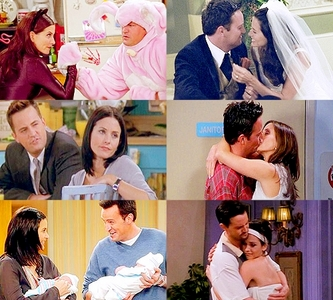 [i]Day 9: The most believable relationship.[/i] [b]Monica & Chandler[/b]