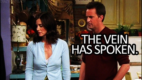 dia 9: The most believable relationship. Monica and Chandler