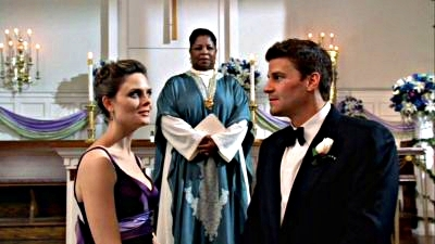 [i]Day 10: Why aren't these two married?[/i] [b]Booth & Brennan[/b]!