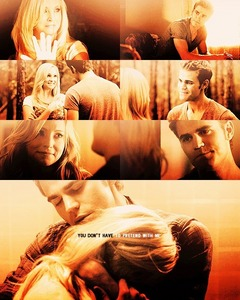 <b>Day 3: A pairing that needs to happen now.</b> Stefan and Caroline!