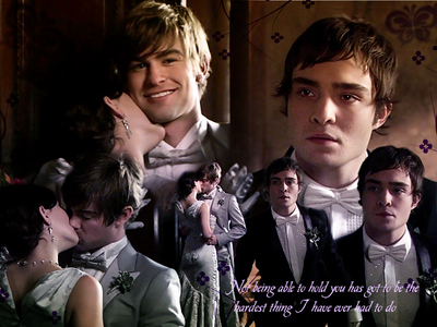 dia 23: A crazy amor triangle/quadrilateral that worked out great. Nate/Blair/Chuck.