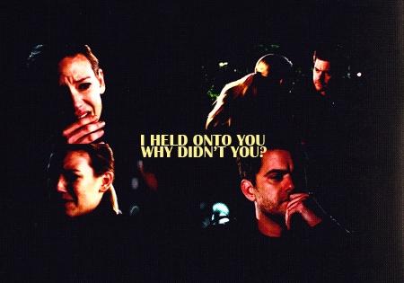 "[b]Day 7: The most heartbreaking scene. [/b] [b][u]Peter&Olivia [i]""she wasn't me""[/i][/u][/b] Sinc"