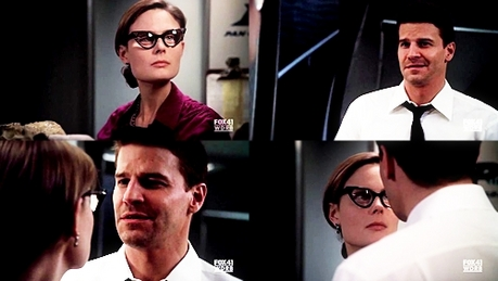 [i]Day 20: The can't-stand-the-sexual-tension pairing.[/i] [b]Booth & Brennan[/b]