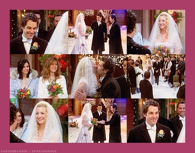 <b>Day 12: Who had the best wedding? </b> Phoebe and Mike