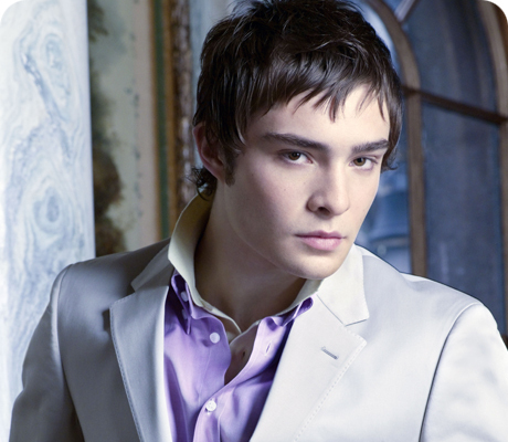 Day 1 - Your favourite male character:  Chuck Bass