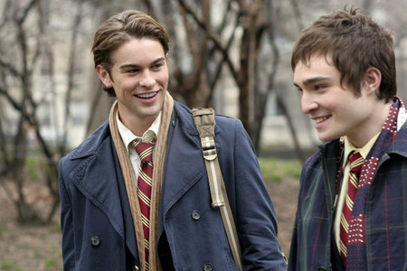 Day 7 – Your favorite friendship:  Chuck & Nate.