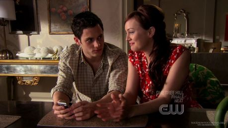 Day 16 – A scene that makes you happy: Dan and Blair plotting against Georgina in the season 1 fina