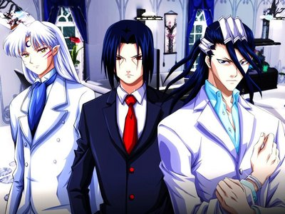 he not for me Byakuya from bleach (the one on the right)