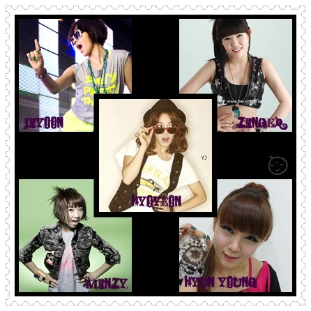 Group : E.S Eternal (eumag sonyeo eternal/eternal musique girls) Members : Hyoyeon [Leader,Sub-vocal,M